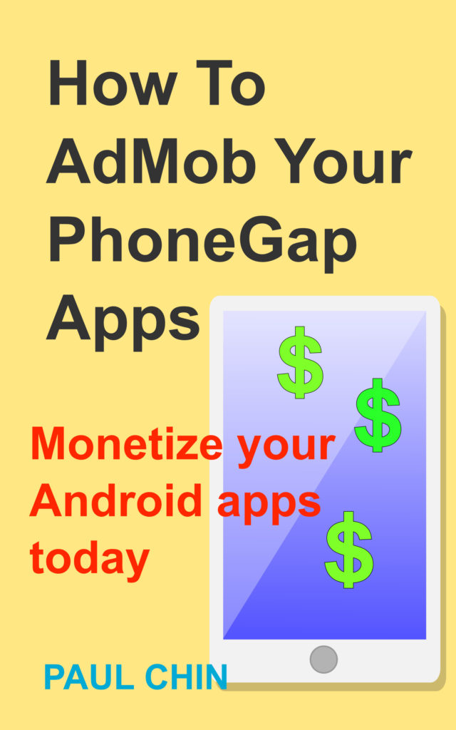 How to add Admob to your PhoneGap Apps