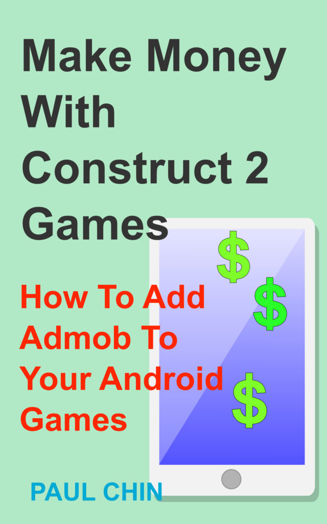 make money with construct 2 book cover